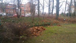 Winterfest machen im Logengarten
