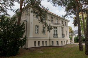 Das Logenhaus der Freimaurerloge Friedrich zur Bruderkette